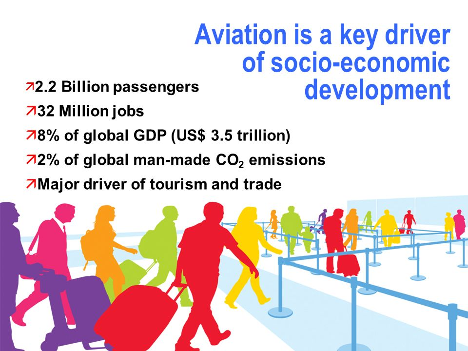 Aviation is a key driver of socio-economic development