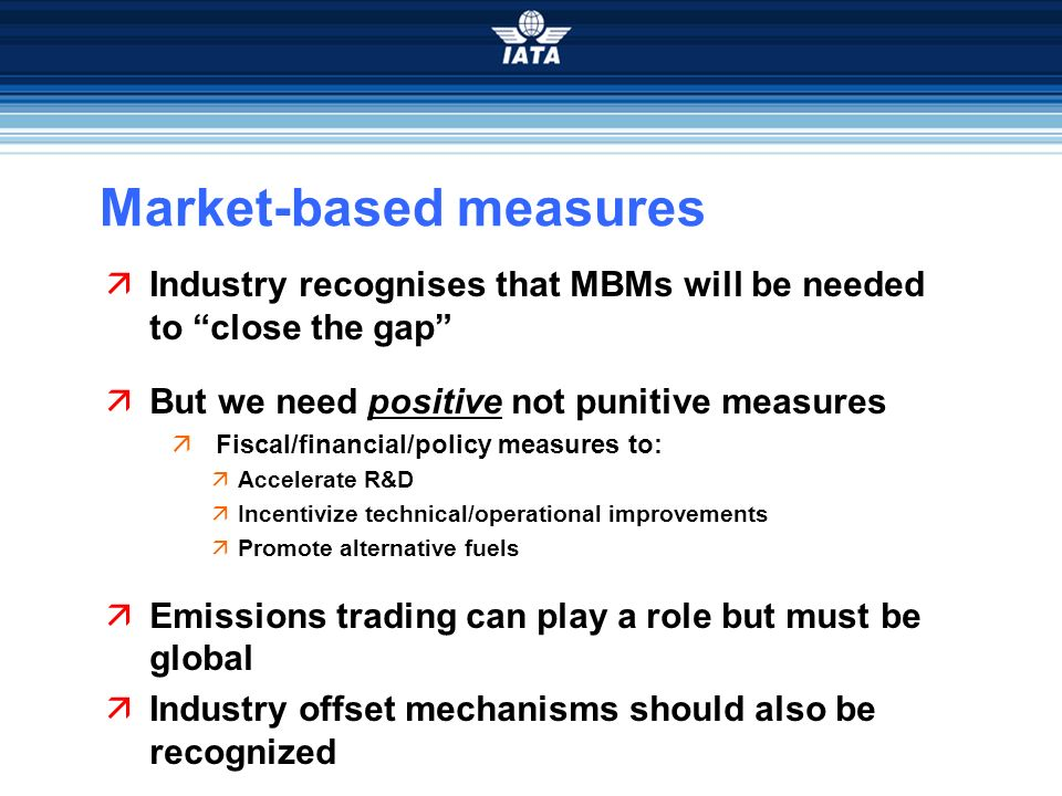 Market-based measures