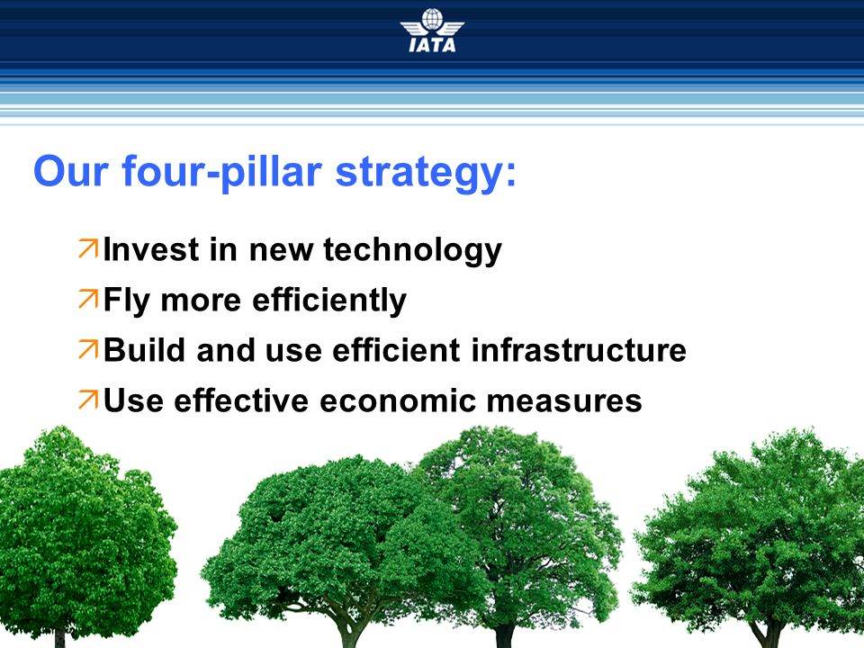 Our four-pillar strategy: