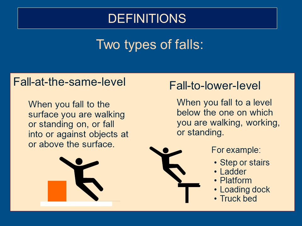 Slips, Trips and Falls Module 1 May, ppt video online download