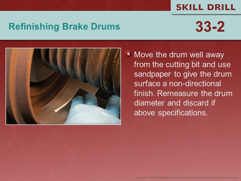 Refinishing Brake Drums
