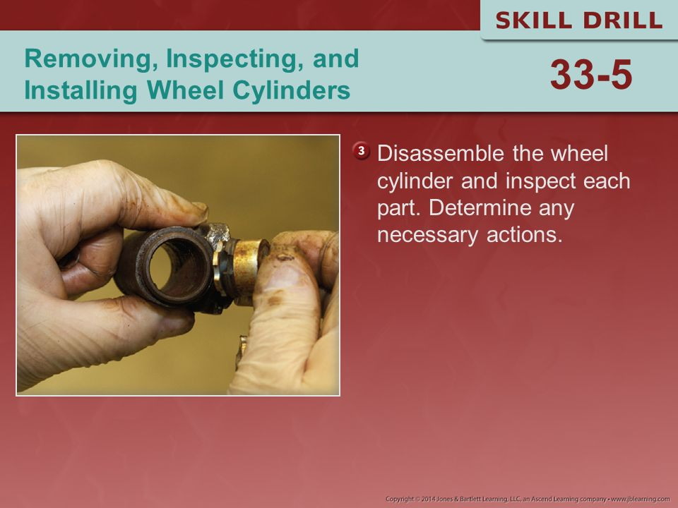 Removing, Inspecting, and Installing Wheel Cylinders