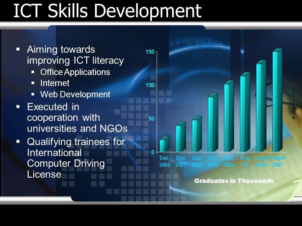ICT Skills Development