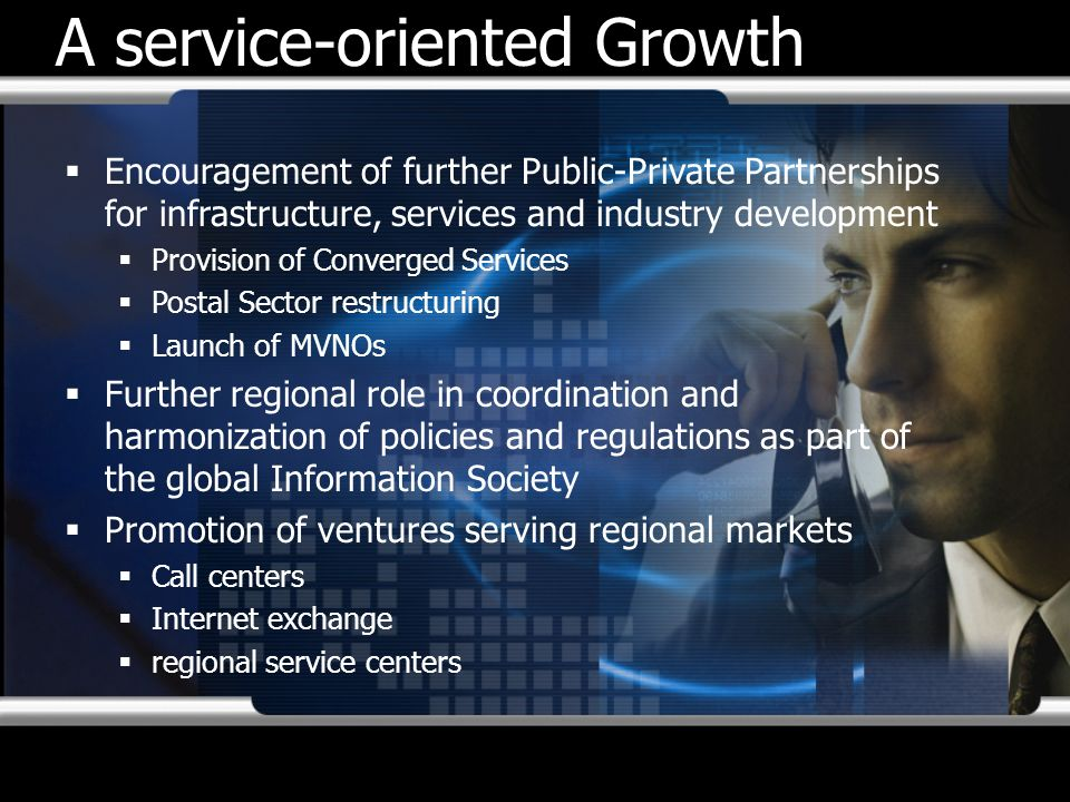 A service-oriented Growth