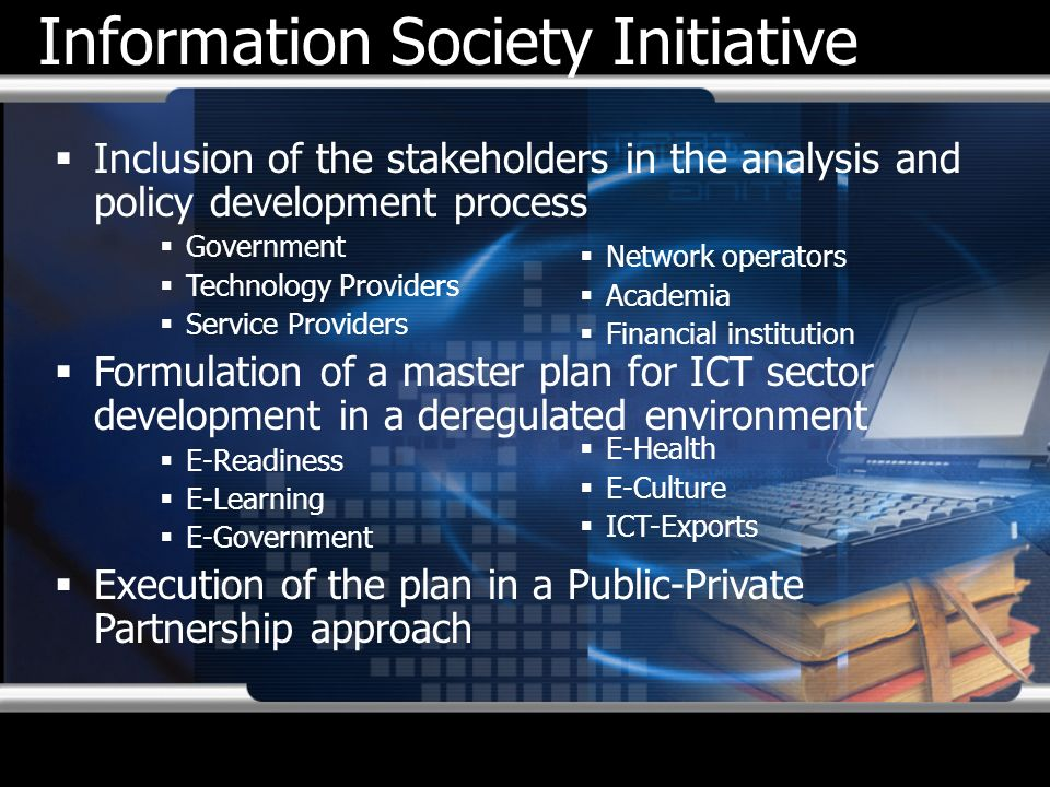 Information Society Initiative