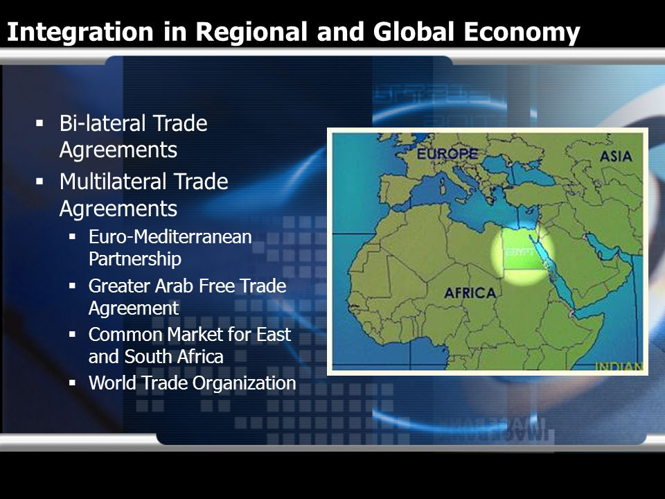 Integration in Regional and Global Economy