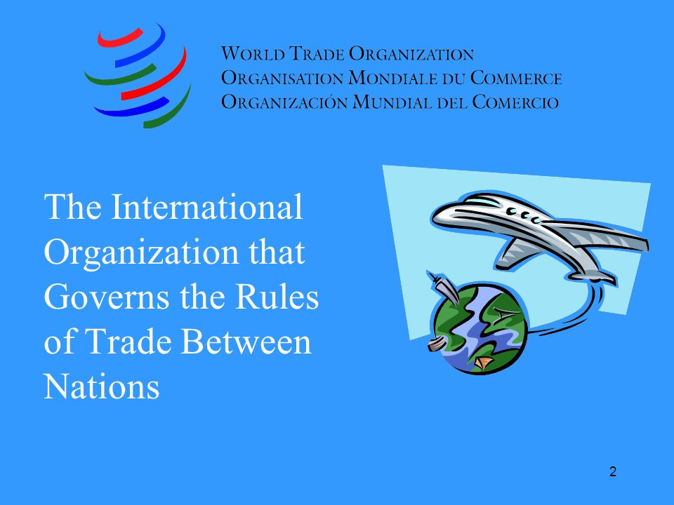 The International Organization that Governs the Rules of Trade Between Nations