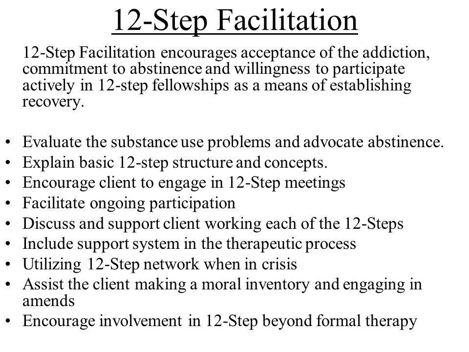 12-Step Facilitation