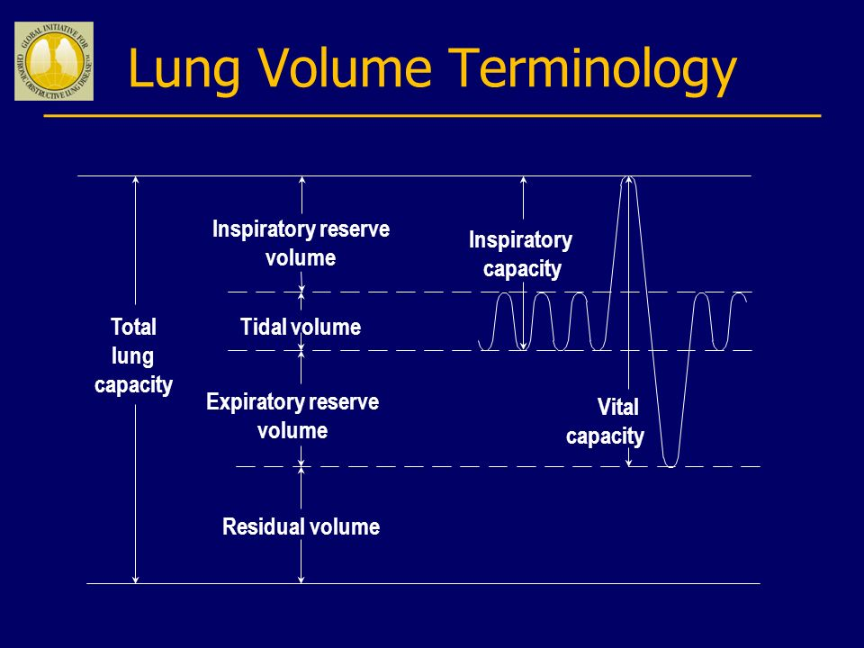Lung Volume Terminology