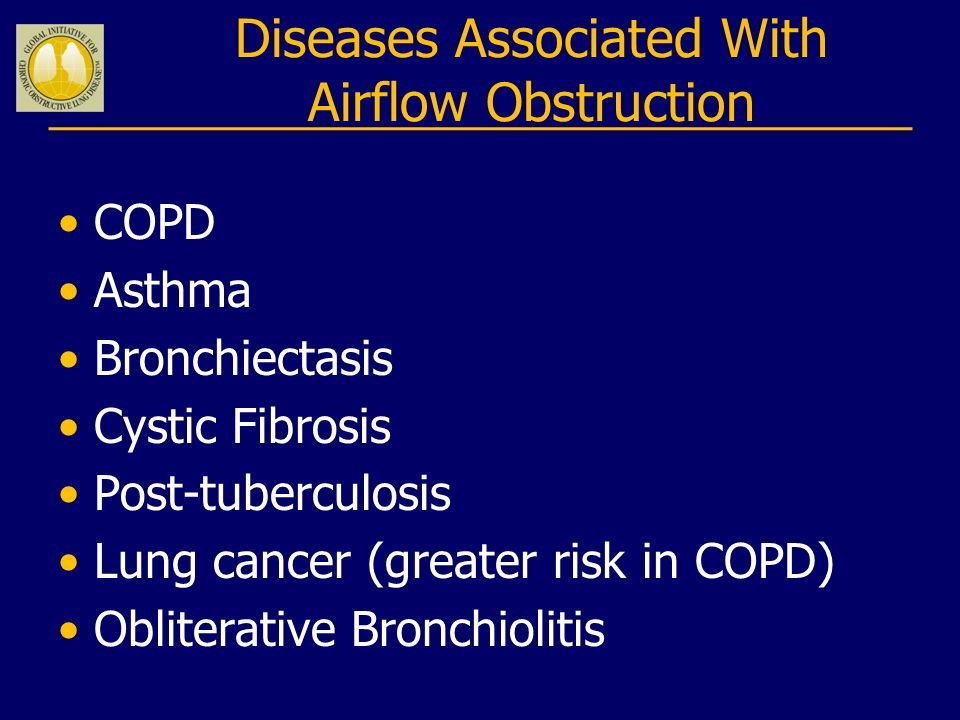Diseases Associated With Airflow Obstruction