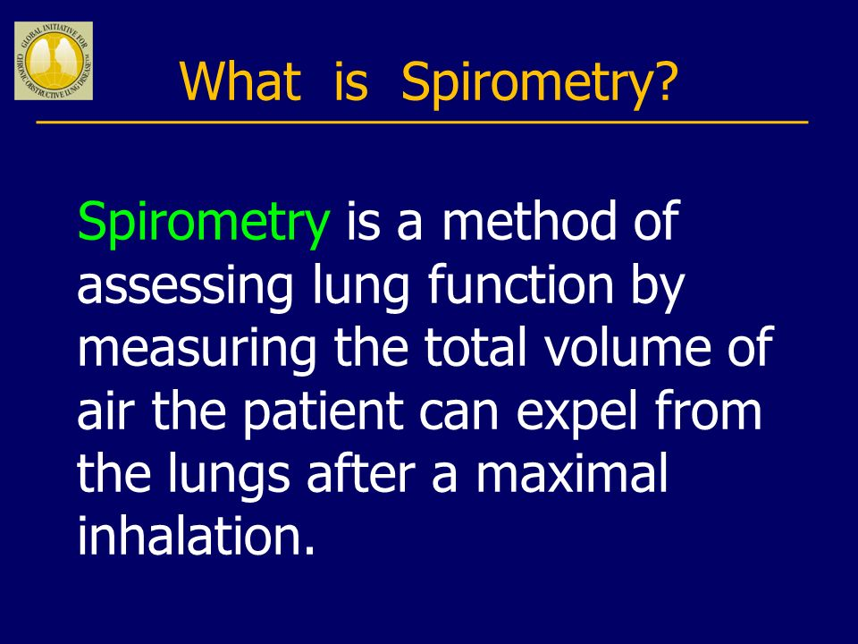 What is Spirometry