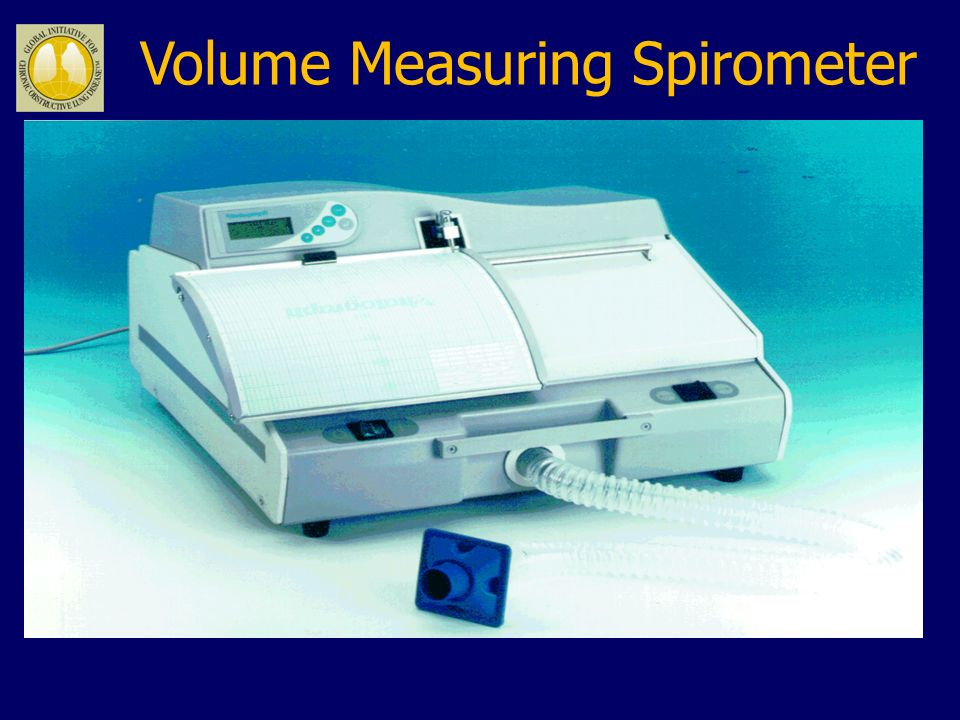 Volume Measuring Spirometer