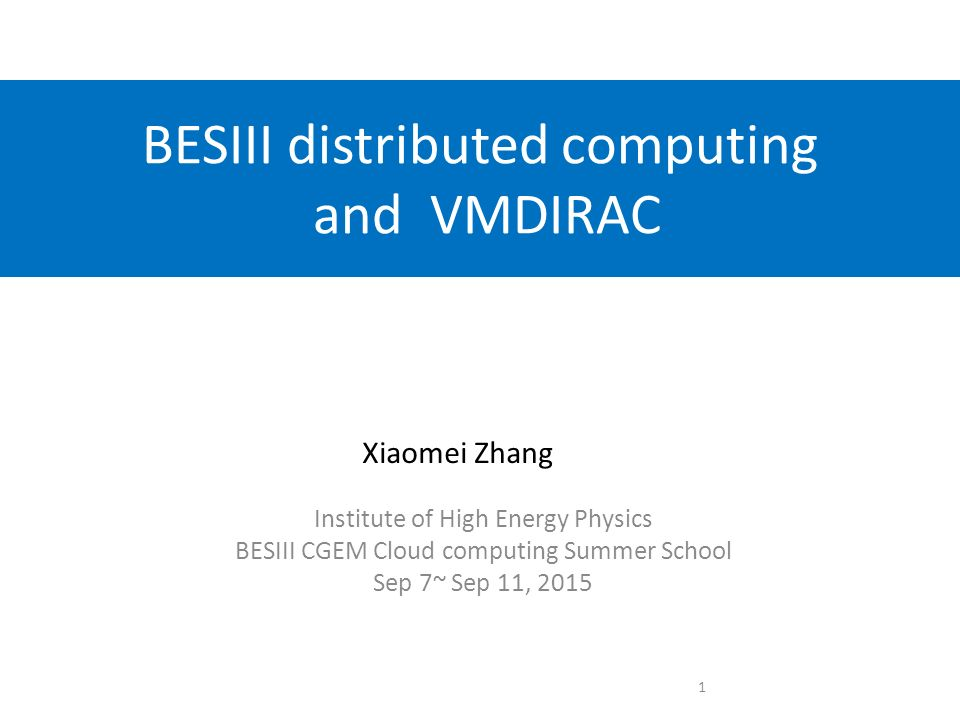 BESIII distributed computing and VMDIRAC