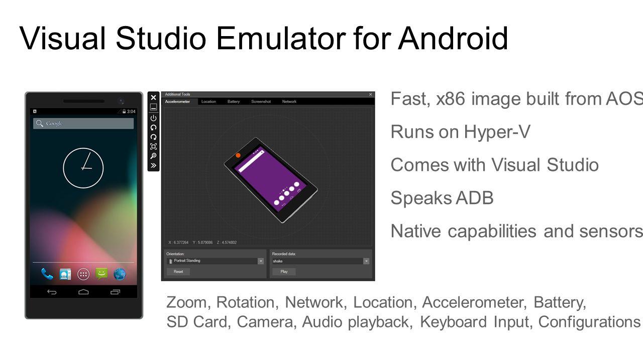Developing Cross-Platform Applications with Visual Studio