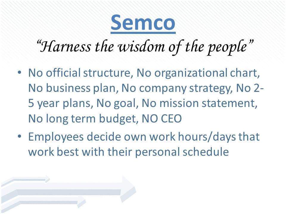 semco management strategy