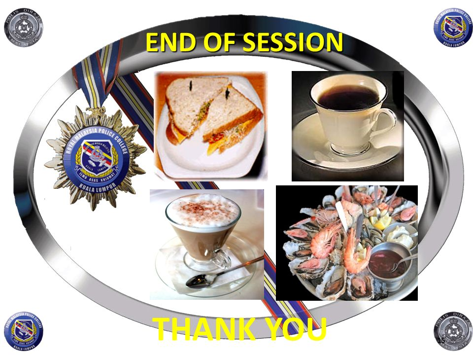 END OF SESSION THANK YOU 15