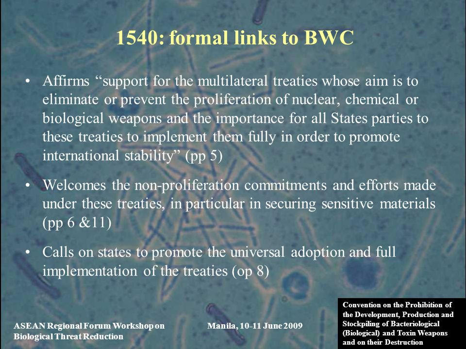 1540: formal links to BWC