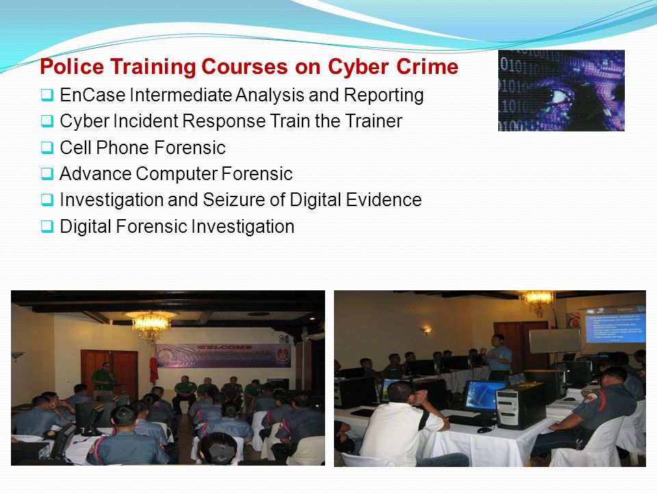 Police Training Courses on Cyber Crime