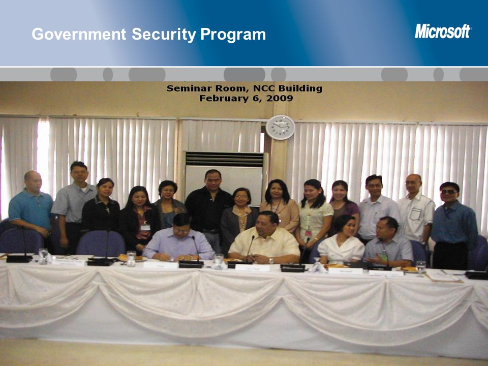 Government Security Program