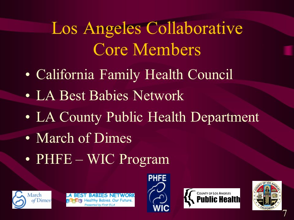 Los Angeles Collaborative Core Members