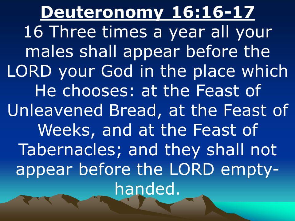 Kuvahaun tulos haulle Deuteronomy 16:16