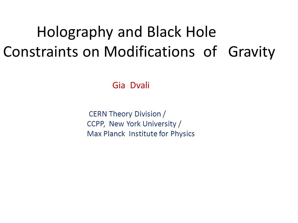 Holography and Black Hole Constraints on Modifications of Gravity