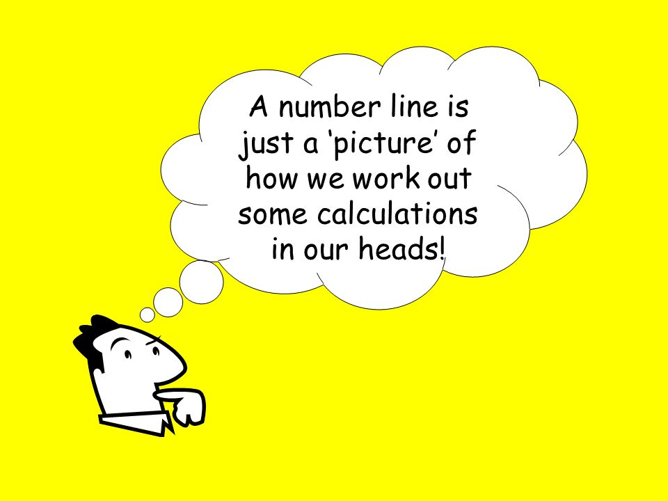 how to work out number lines