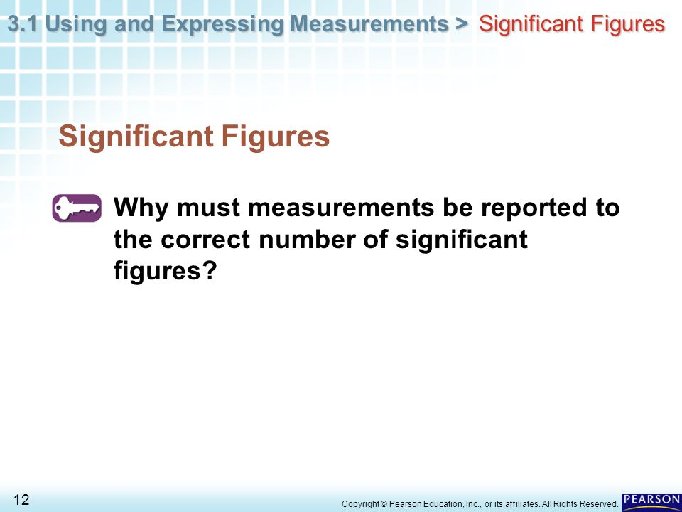 Significant Figures Significant Figures. Why must measurements be reported to the correct number of significant figures