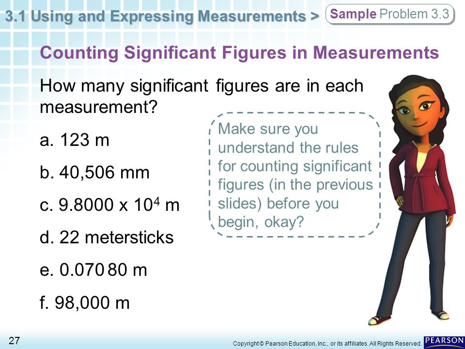 Counting Significant Figures in Measurements