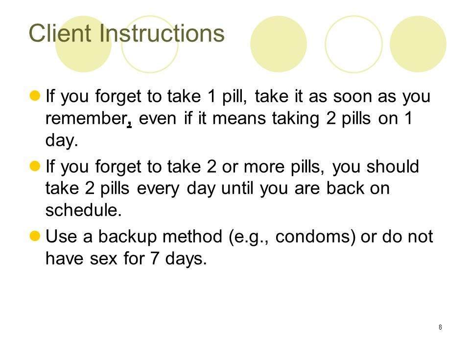 Instructions on how to have sex