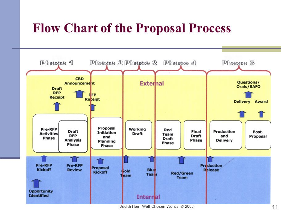 Flow Chart of the Proposal Process