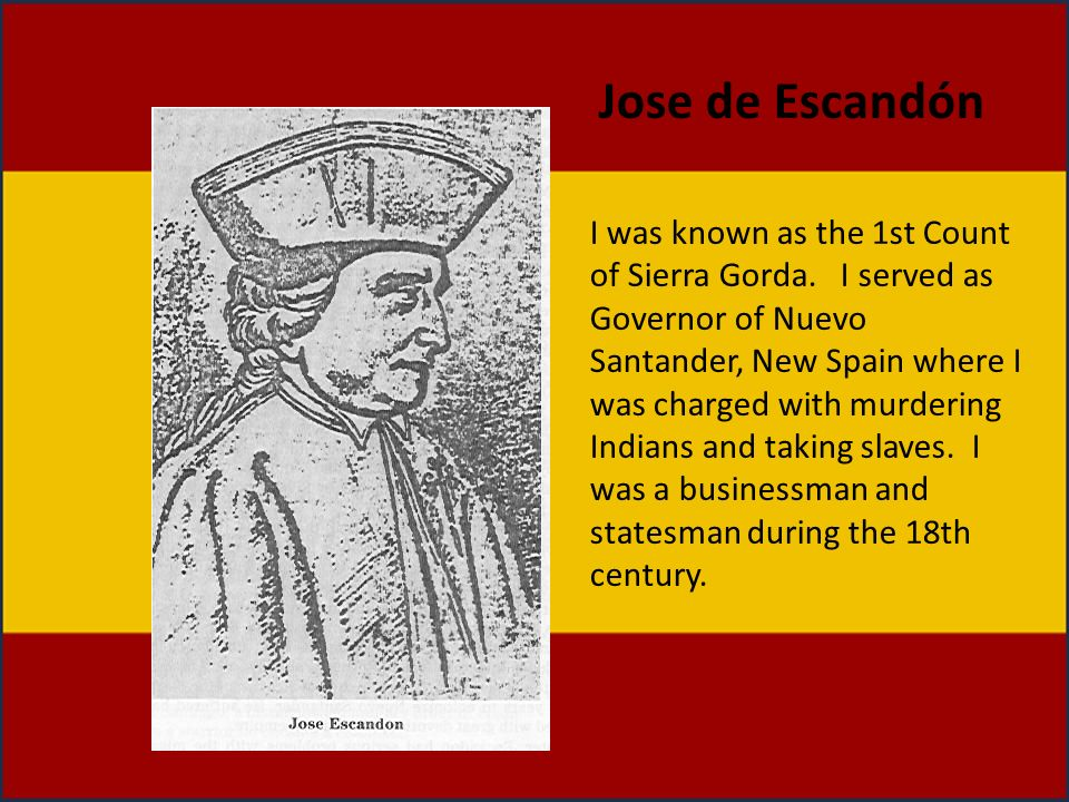 Jose de Escandón