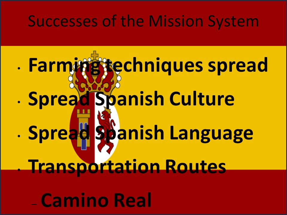 Successes of the Mission System