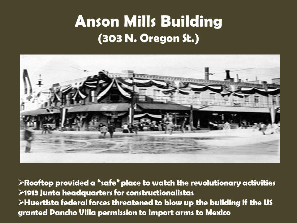 Anson Mills Building (303 N. Oregon St.)