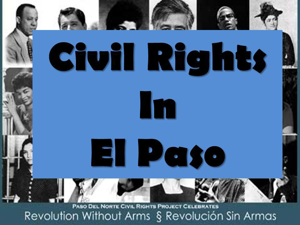 Civil Rights In El Paso