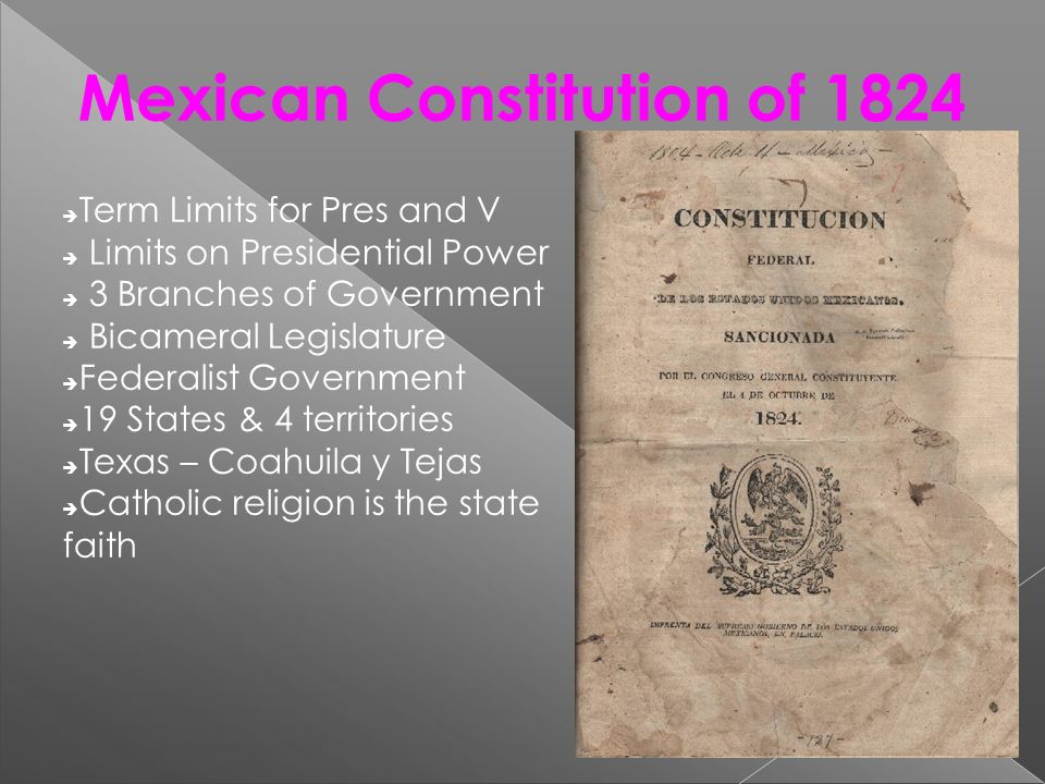 Mexican Constitution of 1824