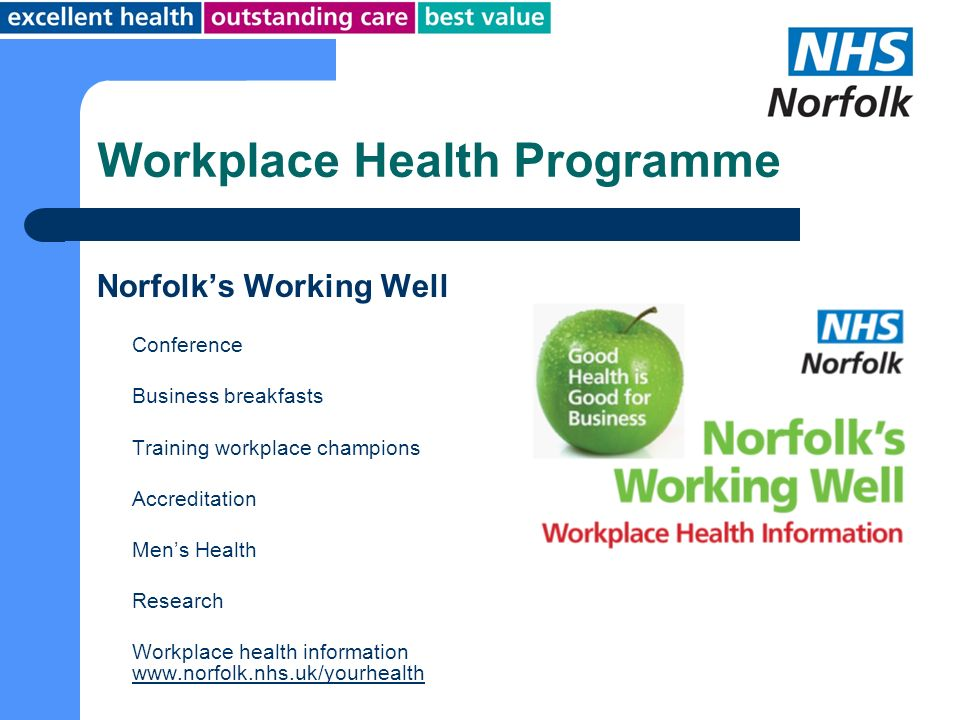 Workplace Health Programme