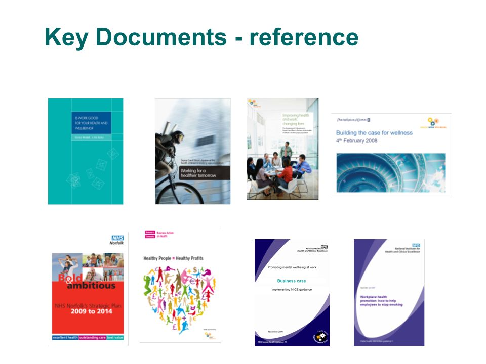 Key Documents - reference