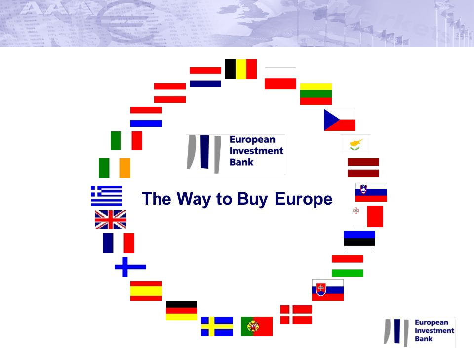 The Way to Buy Europe