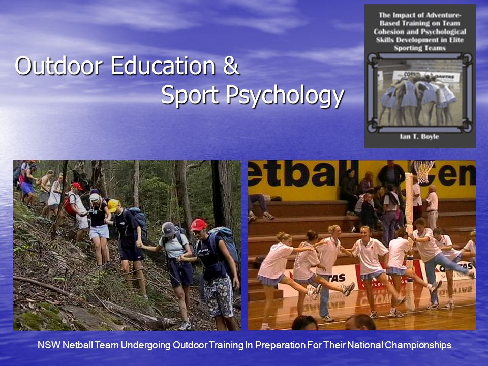 Outdoor Education & Sport Psychology