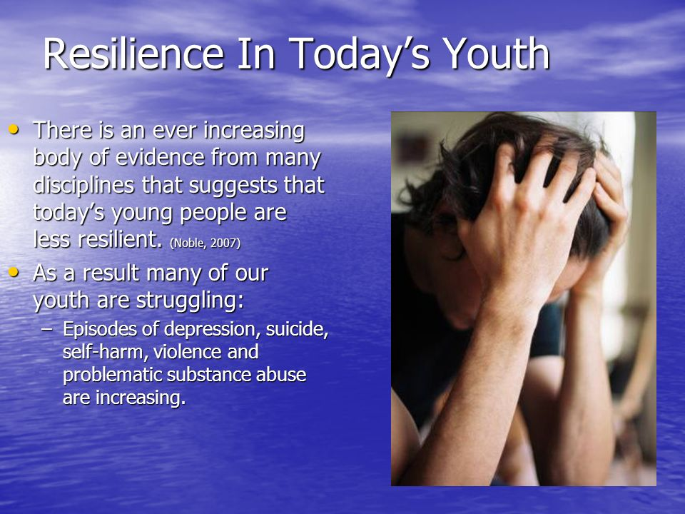 Resilience In Today's Youth