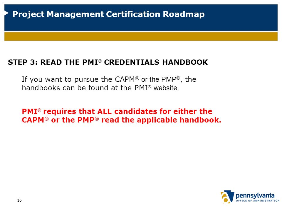 pmis project management professional pmp credential is The project management professional (pmp)® exam prep boot camp information the exam is provided by the project management institute (pmi)® which must be arranged after you have completed the required 35 contact hours.