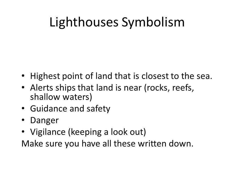 The Lighthouse By Agnes Owens Ppt Download