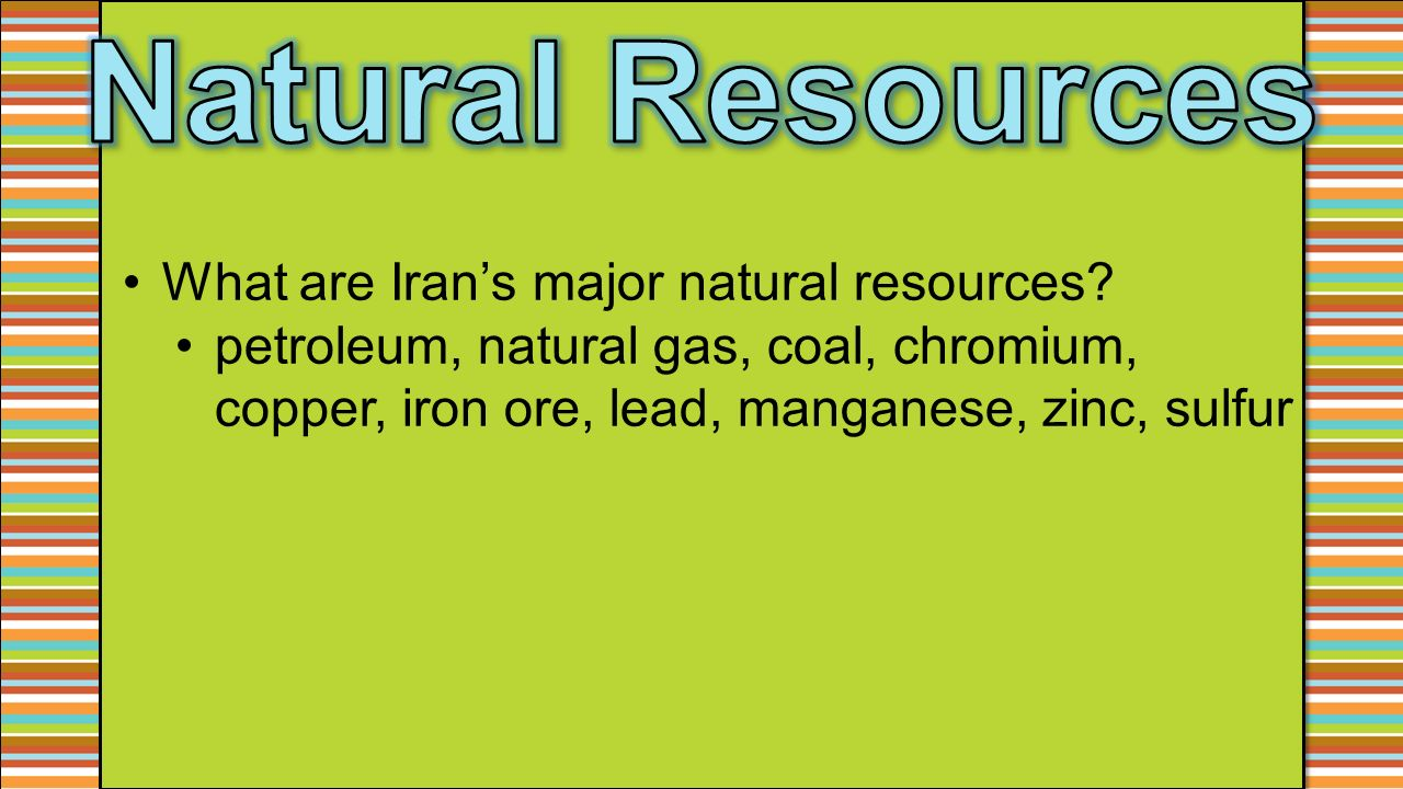 Turkey Natural Resources Exports