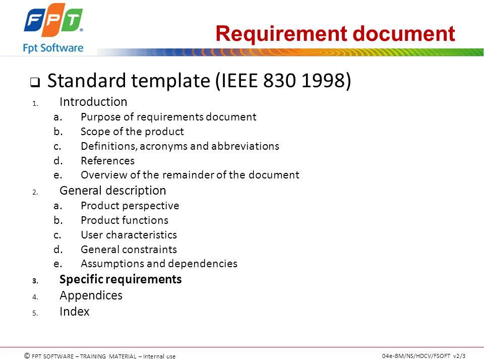 Requirement analyzing & understanding RA&UID - ppt download