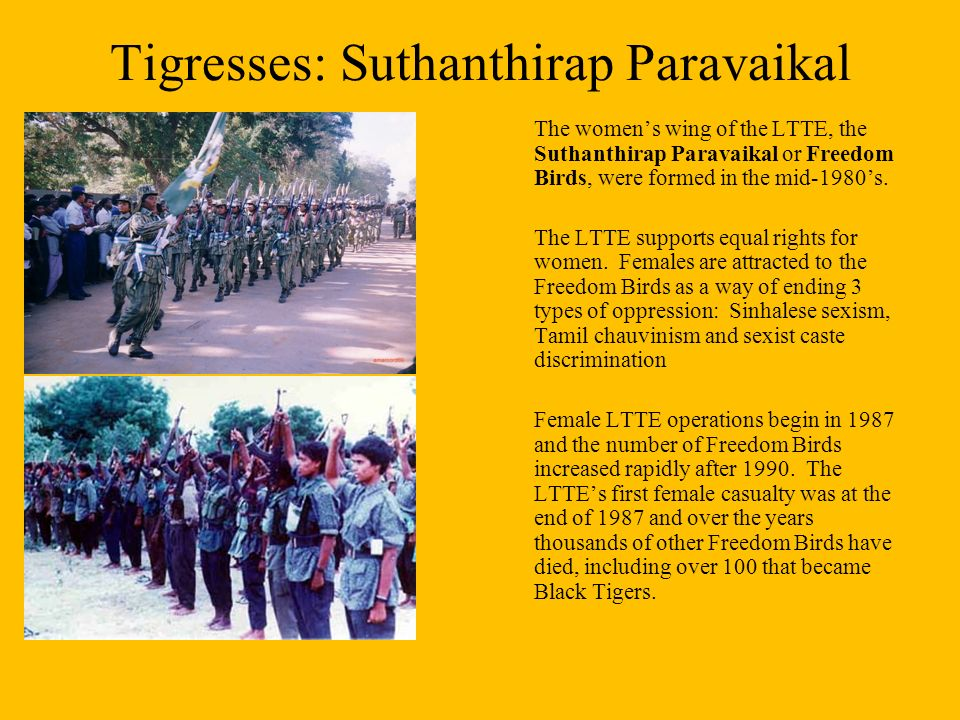 Liberation Tigers of Tamil Eelam - ppt download