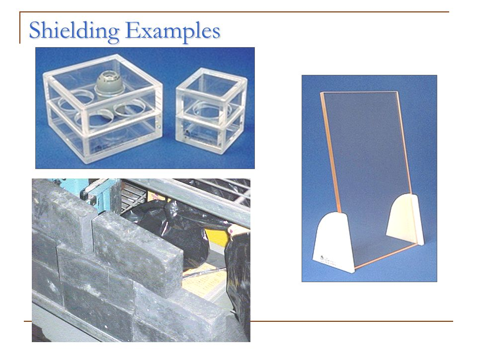 Shielding Examples