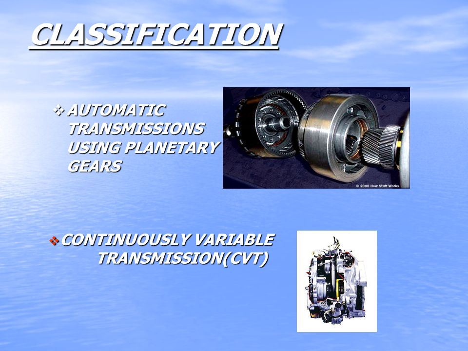 AUTOMATIC TRANSMISSION - ppt video online download