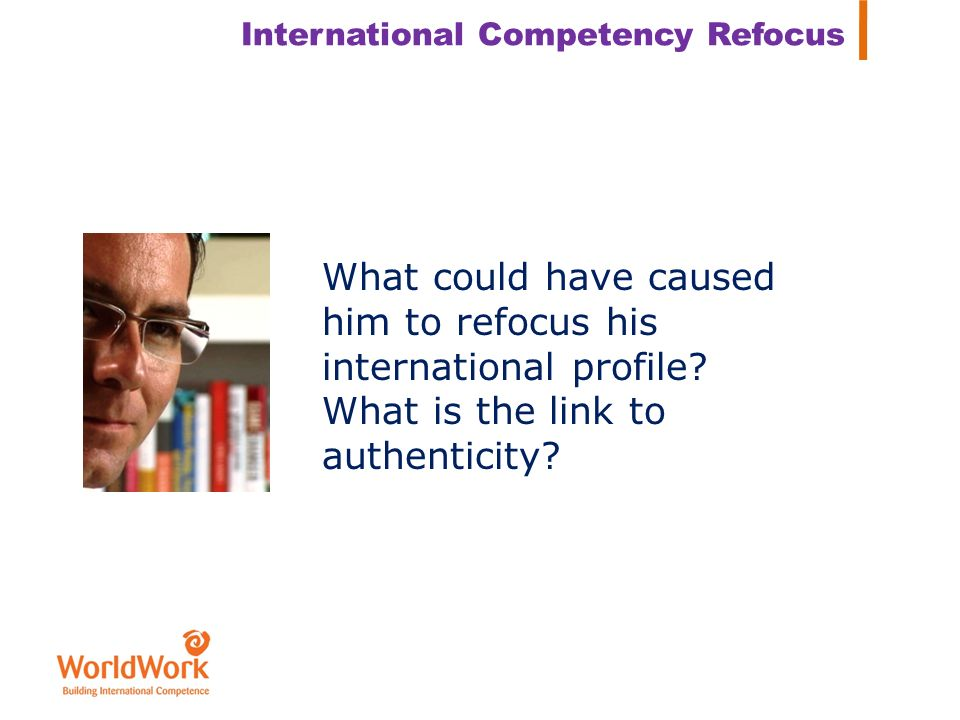 International Competency Refocus