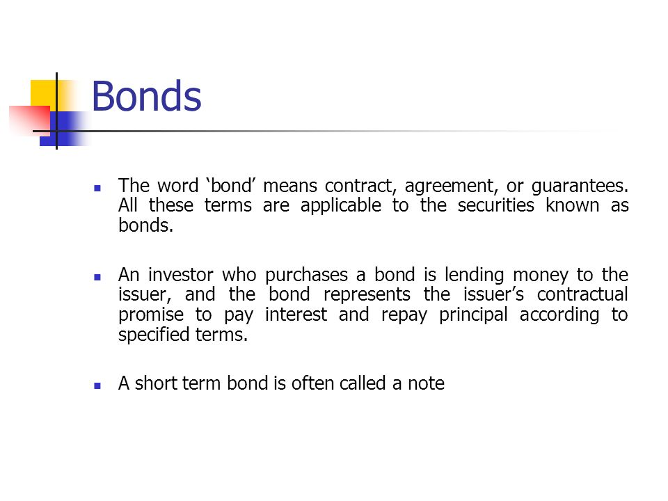 Bond Markets Drruraghavan Ppt Download